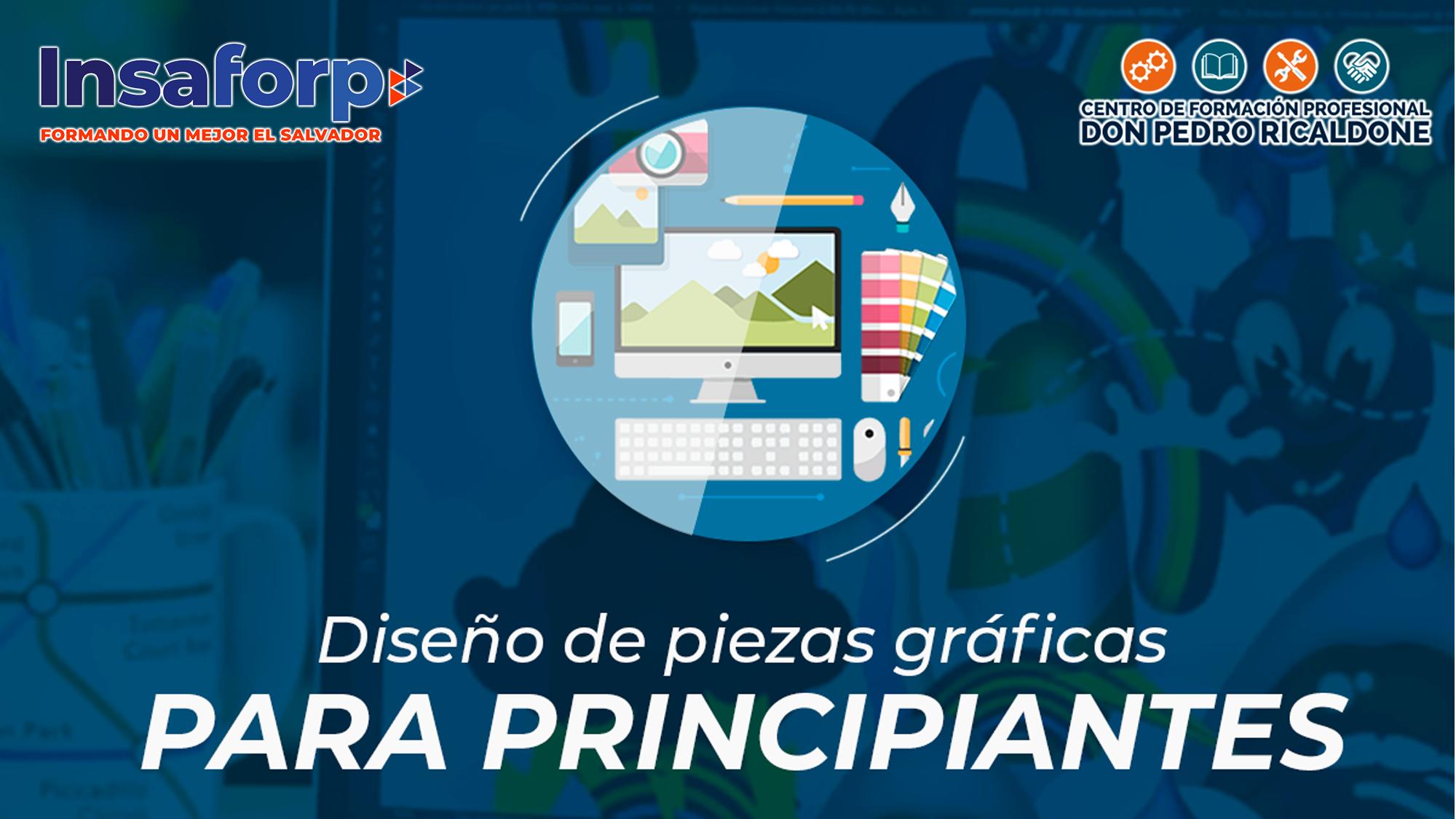 DISEÑOS DE PIEZAS GRÁFICAS PARA PRINCIPIANTES - PROESP-ITRO-019